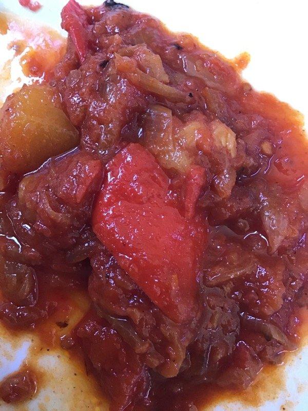 Ratatouille di verdure al pomodoro